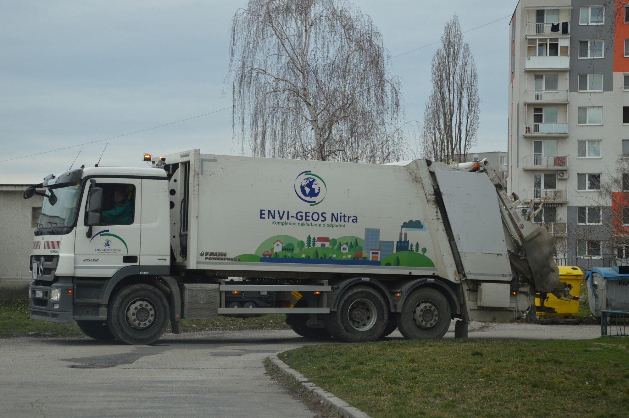 Vývoz odpadov počas sviatkov